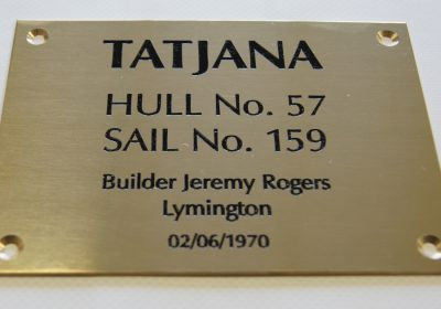 Boat Plaque