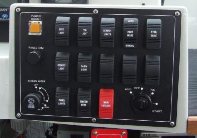 Control Panel and Switch Engraving