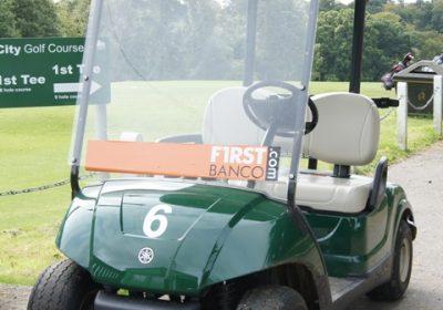 Graphics on Golf Buggy