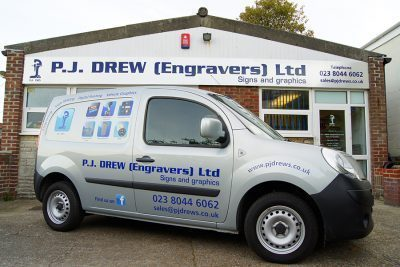 Livery and Sign Writers in Southampton and Hampshire