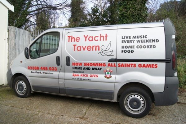Hampshire Vehicle Graphics